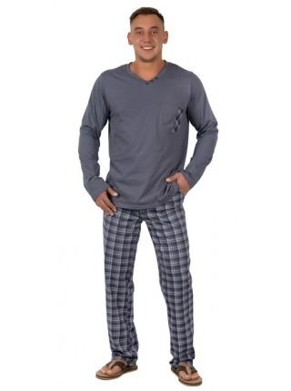 Комплект мужской дом. с брюками (пижама) Цвет в ассорт.