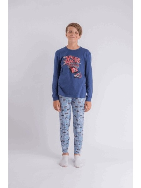 Пижама детская для мальчика 202430, рост 134
