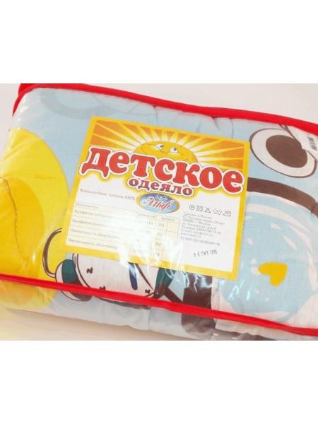 Одеяло детское холофитекс (чехол-хлопок)  110*140