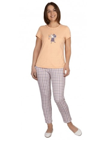 Комплект жен. домашний с брюками Мышка