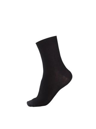 Носки мужские Лысьва (100%хлопок) черные