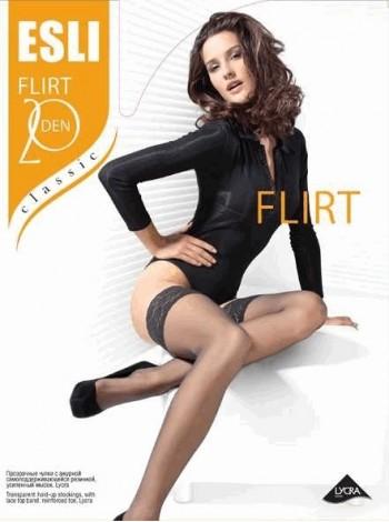 Чулки женские FLIRT 20 den (цв. телесный)
