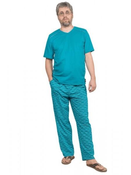 Комплект мужской домашний с брюками