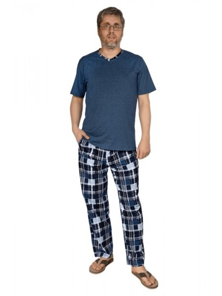 Комплект муж. домашний с брюками  Цвет в ассорт.