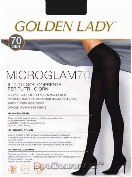 Колготки жен.70 Den Microglam Nero Golden Lady