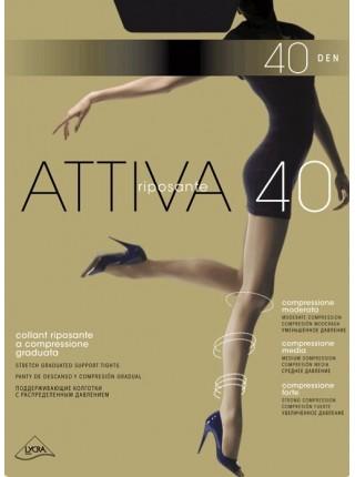Колготки женские Omsa Attiva 40 Den (утягивающие)