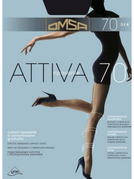 Колготки женские Attiva 70 Den (утягивающие)