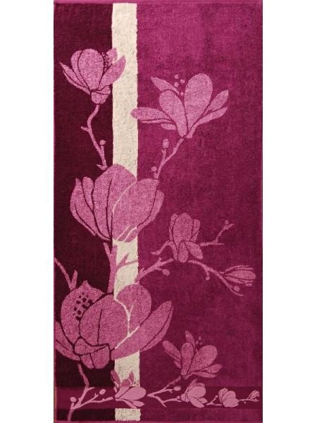 Полотенце махровое бамбуковое 70*140 Magnolia (сиреневый)