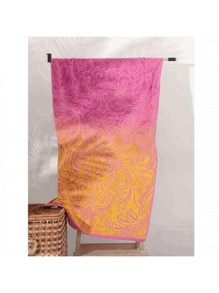 Полотенце махровое 70*130 Gradiente (розовый)