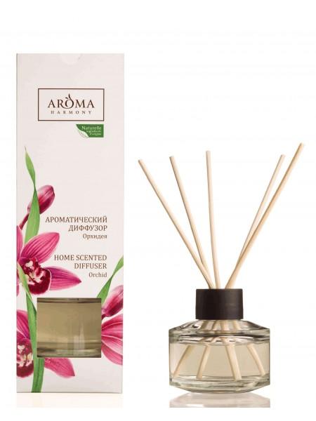 "Аромадиффузор ""Орхидея"" с палочками 50 мл.Aroma Harmony"