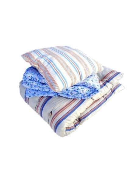 Готовый спальный комплект для рабочих (матрас+одеяло+подушка)