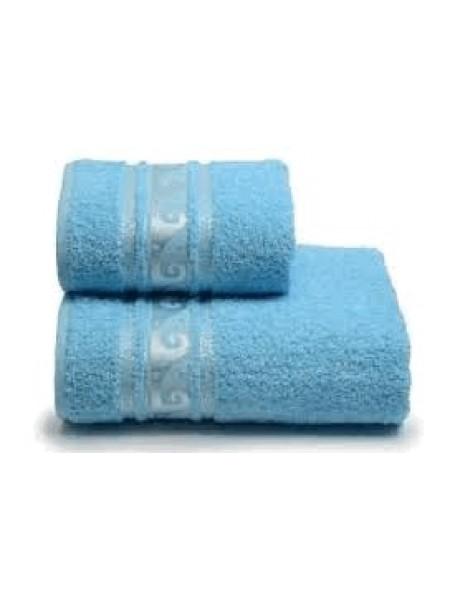 Полотенце махр. 100*150 ELEGANCE, цв.голубой