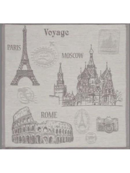 Полотенце кух. гладкотк. 50*50 Bon Voyage