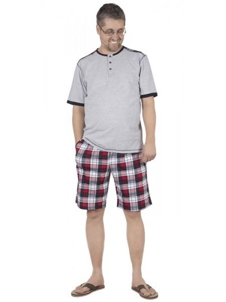 Комплект муж. домашний с шортами (100%хлопок)