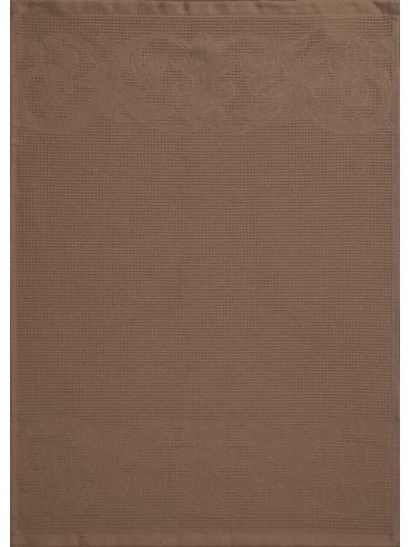 Полотенце кух.вафельное 50*70 цв. коричневый