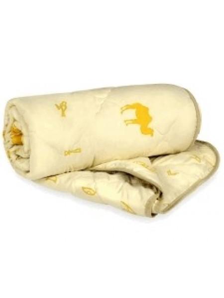 Одеяло 1,5сп. верблюжья шерсть всесезоннее