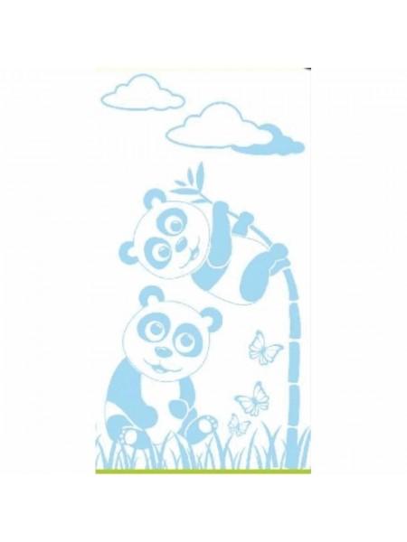 Полотенце махр. 70*130 400гр/м2 Tibet (панды)