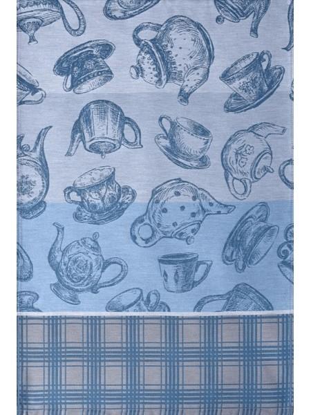 Салфетка гладкотканая 50*70 Teiera (синий)