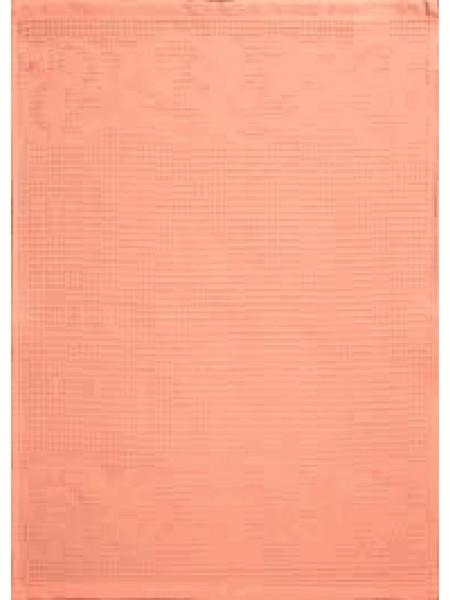 Полотенце кух.вафельное 50*70 цв. персик