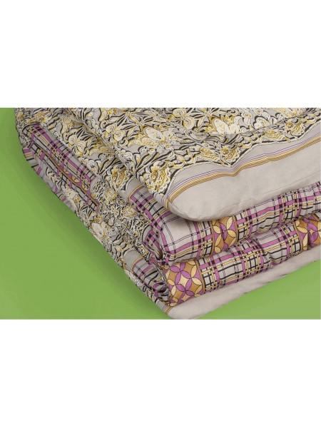 Одеяло ватное 110*140 (тик) детское цв.в ассорт.