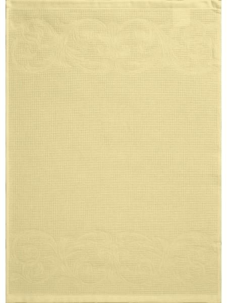 Полотенце кух.вафельное 50*70 цв. желтый