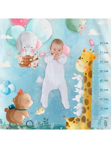 КПБ детский простыня на резинке бязь-люкс Holiday