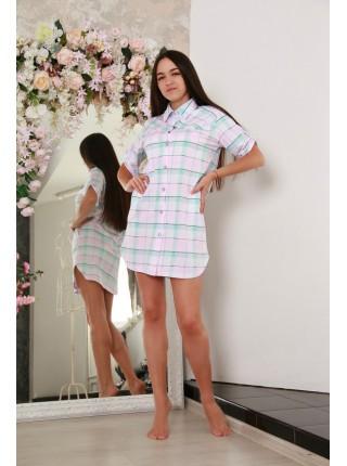 Халат на пуговках(рубашка) 171221