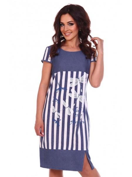 Платье Астерия джинс 8006