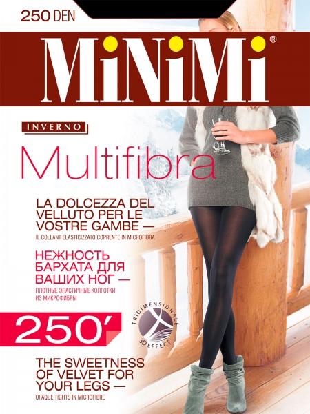 Колготки женские 250Den Multifibra (nero)