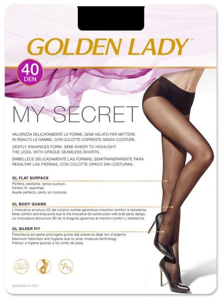 Колготки женские 40 Den MY SECRET 40 (БЕСШОВНЫЕ)