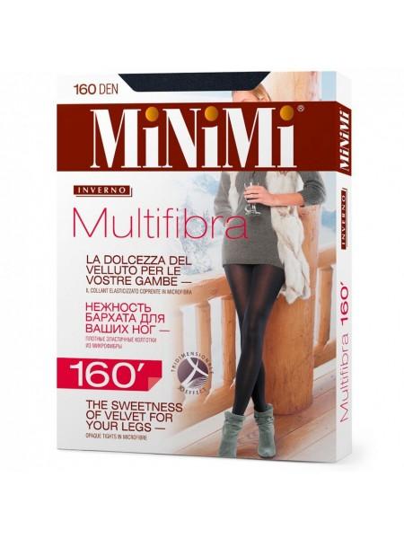 Колготки женские  MULTIFIBRA 160 3D Nero