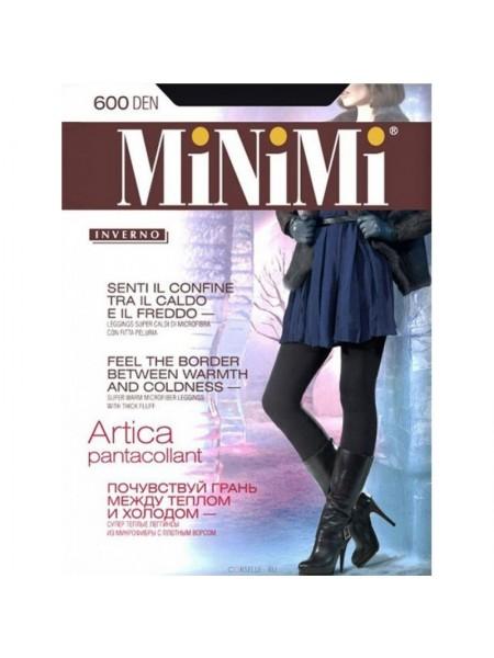 Леггинсы жен 600Den Artica (ворс) MiNiMi черные