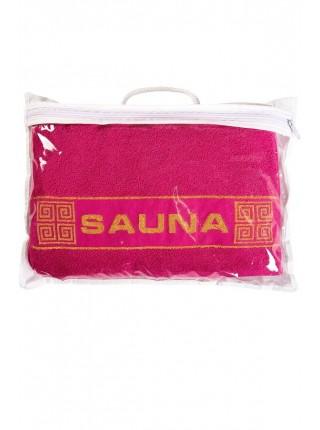 """Комплект для сауны универсальны 2 пр. """"SAUNA"""" цв. в ассорт."""