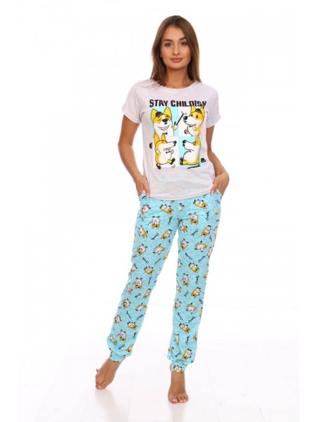 Комплект с брюками Лис