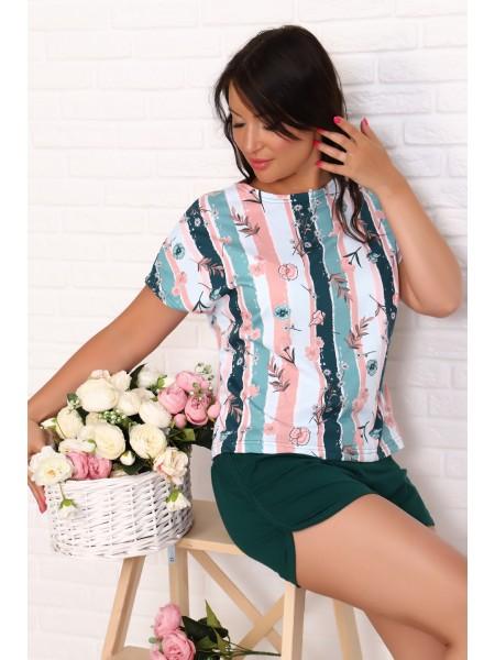 Комплект с шортами 10481