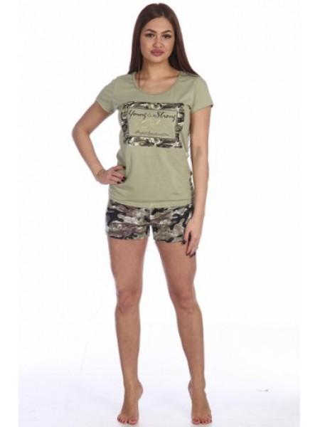 Комплект с шортами Амазонка