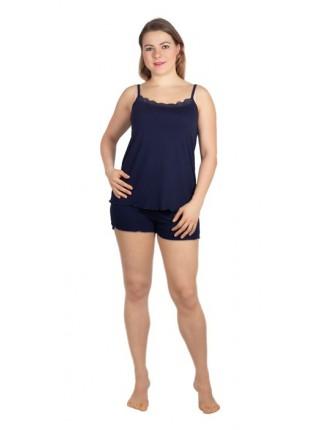 Комплект с шортами (вискоза) К-07-11(пижама) цв.в ассорт.