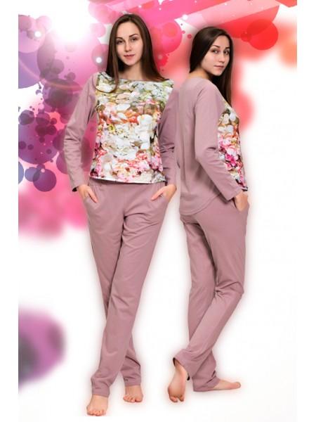 Комплект женский с брюками Божоле