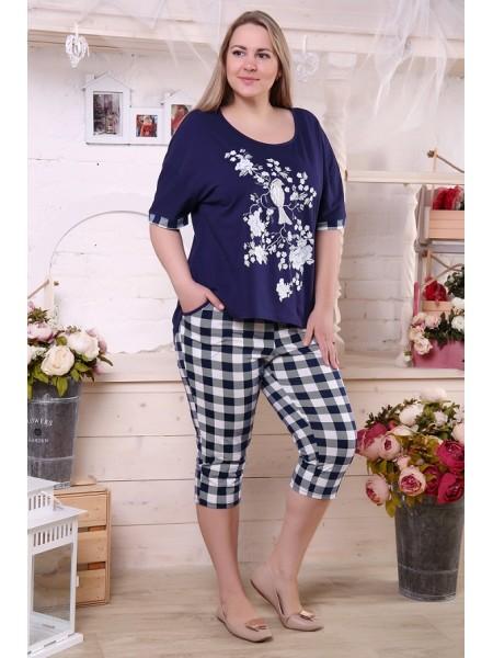 Пижама с бриджами 4764 р-ры 56-70