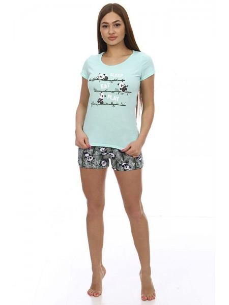 Пижама с шортами Бамбук