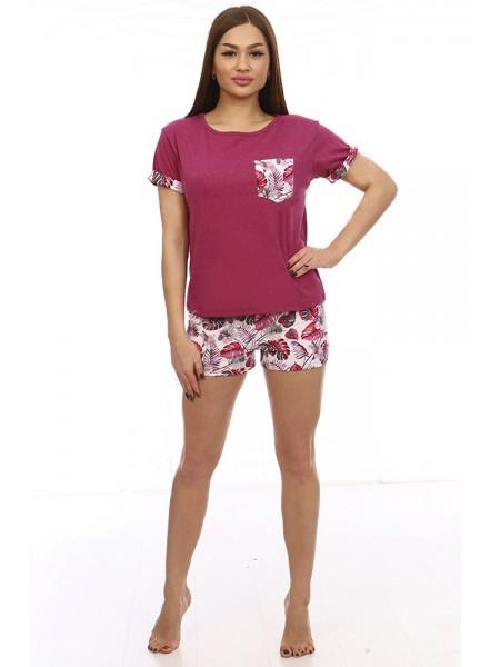 "Пижама с шортами ""Таити"", Каприз р-р 42-52"