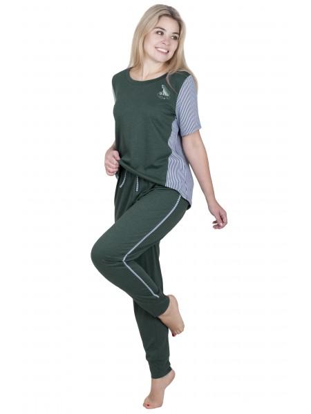 """Пижама женская с брюками """"Элизабет""""  П-153"""