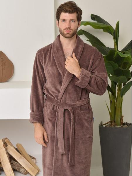 Халат мужской бамбуковый махровый Lord(mokko)