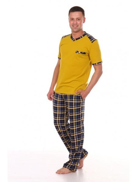 Комплект муж. домашний с  брюками Павел-3