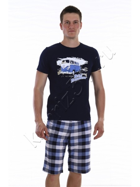 Комплект муж. с шортами Турист