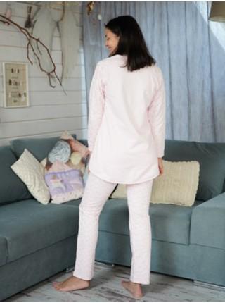 Комплект с брюками теплый (футер) Алиса