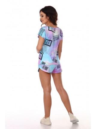 Комплект с шортами Хлоя 5055