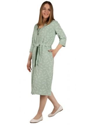 Комплект женский (халат+сорочка) П-07-01 цвет в ассорт.