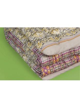 Одеяло ватное 1,5сп. всесезонное
