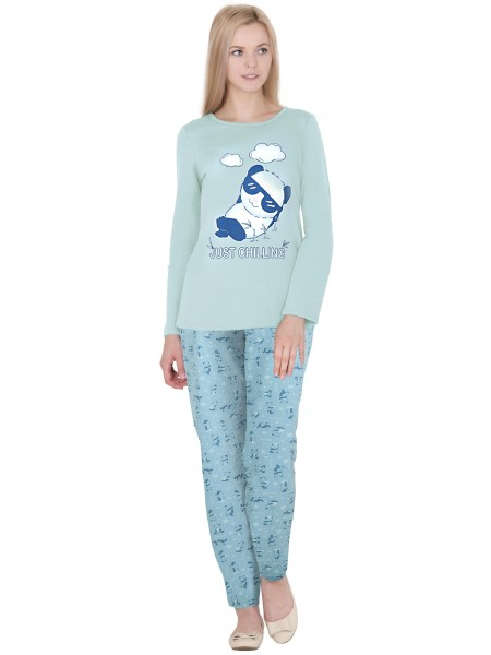 Пижама подростковая теплая(футер) П-125а